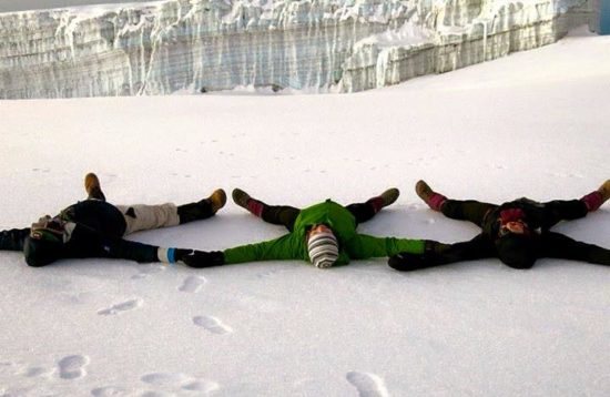 TZ Journeys Kili Clients Snow Angels GREAT